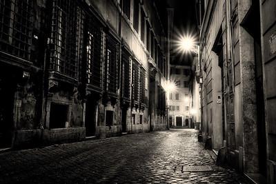 Rome. Street. Night.