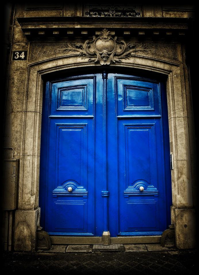 Bleu Door #34