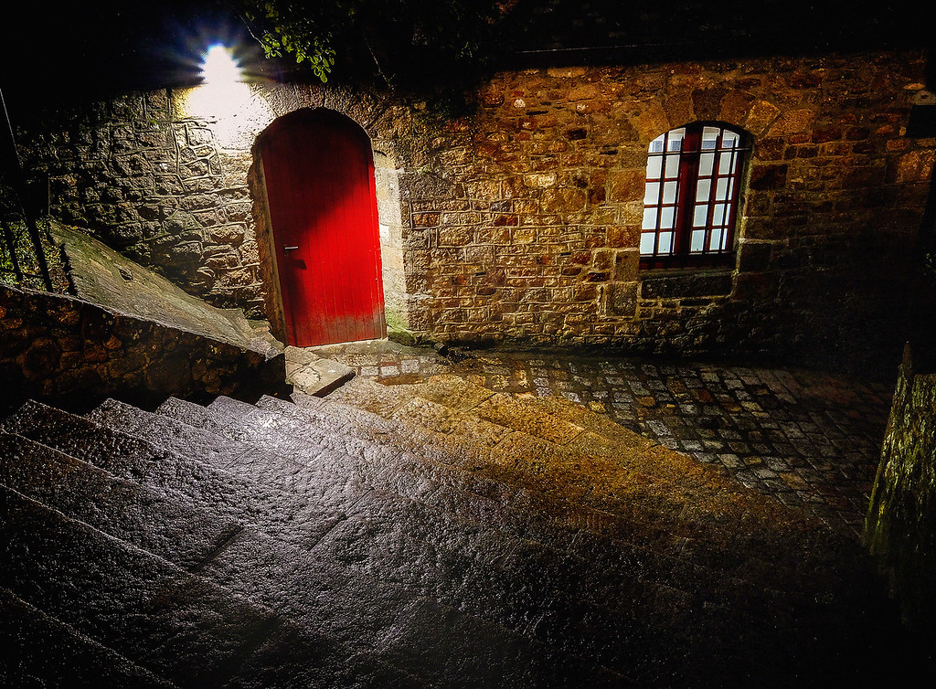 The Red Door On The Left