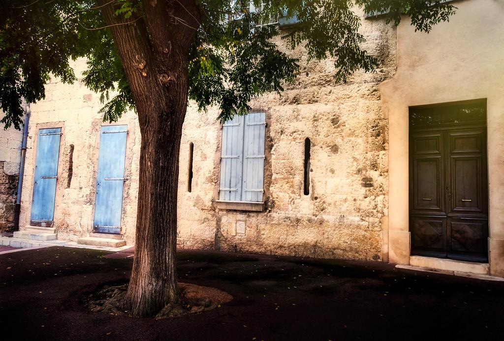 Blue Doors & the Tree