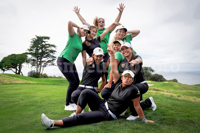 10/4/18: USF WGOLF  at The Olympic Club in San Francisco, CA, featuring <br /> <br /> Image by Chris M. Leung for USF Dons Athletics