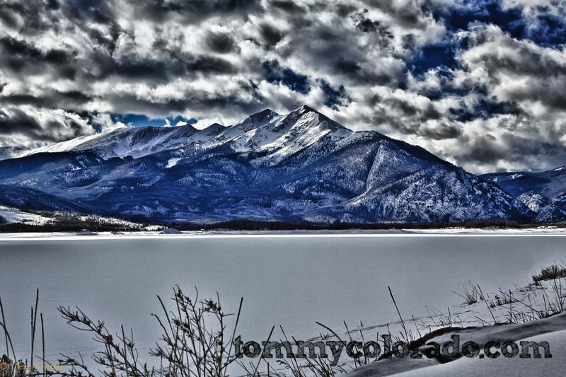 Lake Dillon & Peak One in the Ten Mile Range