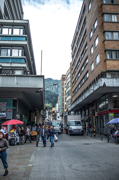 Old center of Bogota, Colombia - South America