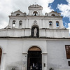 Facade of the Parish of Our Lady of the Waters (Parroquia de Nuestra Senora de las Aguas) in Las Aguas in Bogota, Colombia - South America