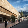 Facade of the Luis Angel Arango Public Library in the center of Bogota, Colombia - South America
