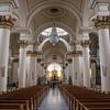 Interior of catedral Primada cathedral in Bogota, Colombia, South America