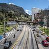 Parque Bicentario / Avenida El Dorado in Bogota, Colombia - South America
