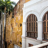 Interior of the Palace of the Inquisition in Cartagena de Indias, Colombia, South America
