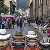 Hats for sale in Bogota, Colombia, South America