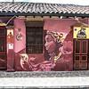 Murals in the Candalaria Barrio in Bogota, Colombia - South America