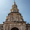 Clock Tower Monument (Monumento Torre Del Reloj) in Cartagena de Indias - Colombia - South America