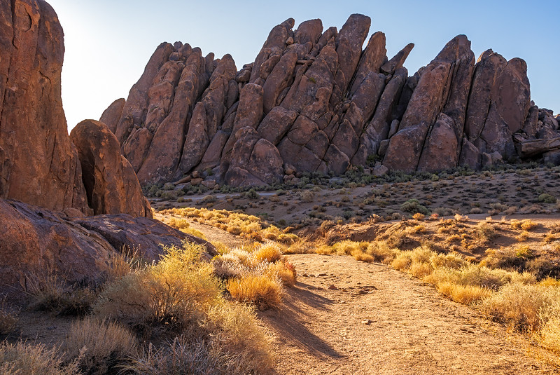 Alabama Hills early morning
