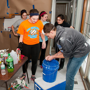 IKE Key Club helps out with Habitat for Humanity (UCS) 2014
