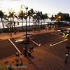 Waikiki Beach at sunset, Saturday, Feb. 27, 2010. LUCY PEMONI PHOTO