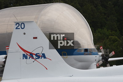 Super Guppy brings NASA's Space ShuttleTrainer, to the Museum of Flight
