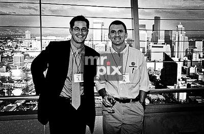 Richard Barton (left) founder of Expedia.com