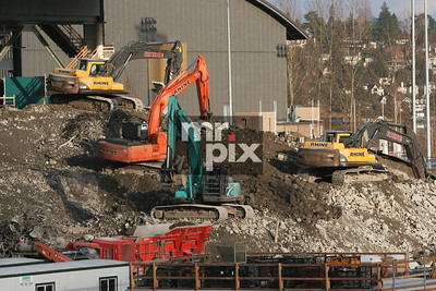 Renovation of Husky Stadium (The Dawghouse) Environment - Industrial Photography