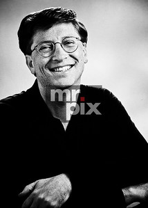 Bill Gates casual portrait for Microsoft Corporation - photo by: Michael Moore