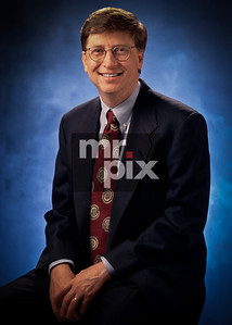 Bill Gates executive portrait for Microsoft Corporation - photo by: Michael Moore