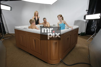 Production still from a new product shoot for large SPA company