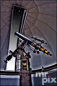 Jacobsen Observatory & Ancient Telescope