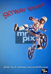 BMX SKYWAY BIKES shoot