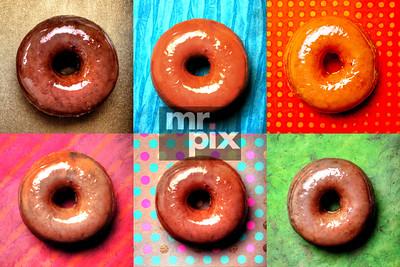 TOP POT Doughnut Poster