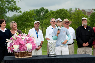 Sun Young Yoo of Seoul South Korea wins the 2010 Sybase Match Play Championship.