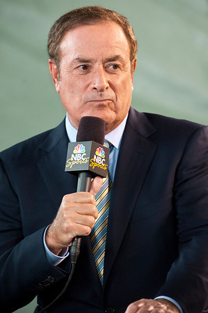 NBC Sports anchor Al Michaels.
