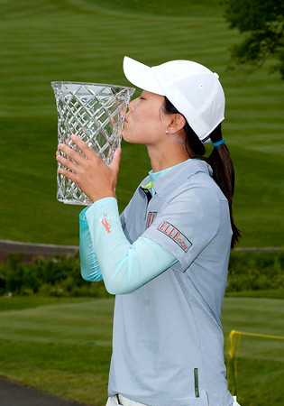 Sun Young Yoo of Seoul South Korea wins the 2010 Sybase Match Play Championship at the Hamilton Farm Country Club in Gladstone, New Jersey.