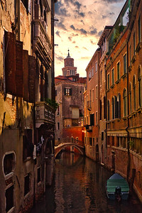 'A Quiet Canal' - Venice, Italy