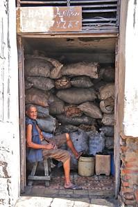 A coal merchant in Santiago de Cuba