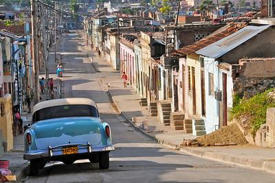 A walk in popular districts of Santiago de Cuba
