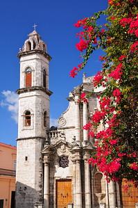 Catedral San Cristobal built between 1748 and 1777, Plaza de la Catedral, Havana Vieja