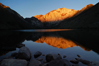 The Day Begins Convict Lake