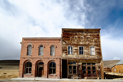 Hotel and IOOF Hall Bodie