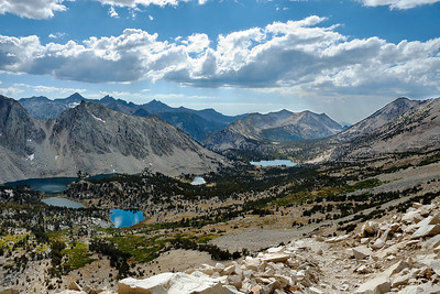 The Kearsarge Lakes Kearsarge Pass