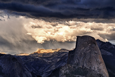 Storm over the High Country Yosemite National Park