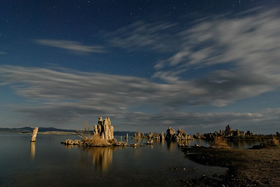 Moonlit Tufa Mono Lake