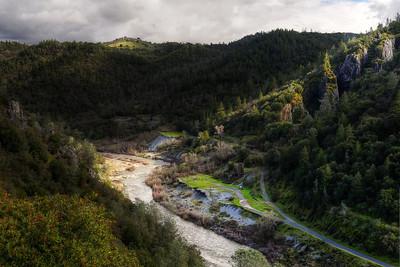 American River Canyon Auburn