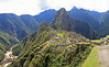 Machu Picchu.  This is actually a panorama of several pictures stitched together.