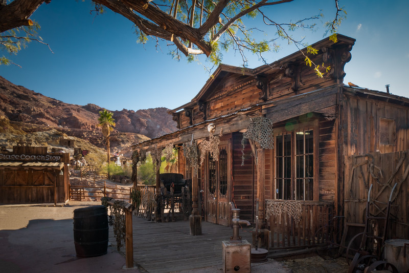 Building in Calico Ghost Town