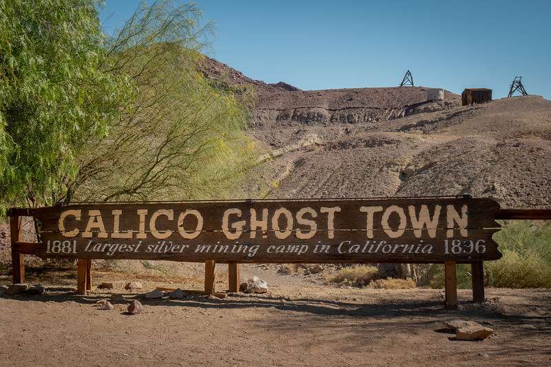 Calico was once a real place