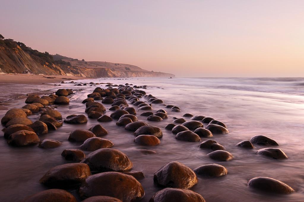 Bowling Ball Beach Schooner Gulch State Beach
