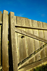 Gate at Pierce Ranch Point Reyes National Seashore