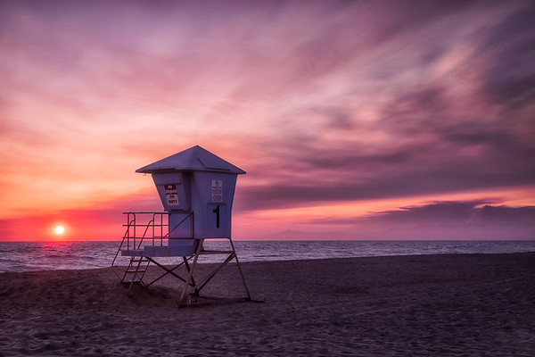 Oxnard State Beach Sunset