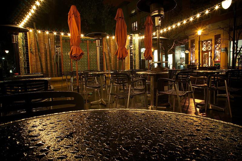Closed Cafe, Santana Row - San Jose, California