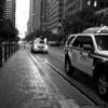 Taxies on Market Street - San Francisco, California