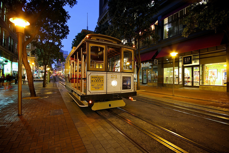 Cable Car - San Francisco, California