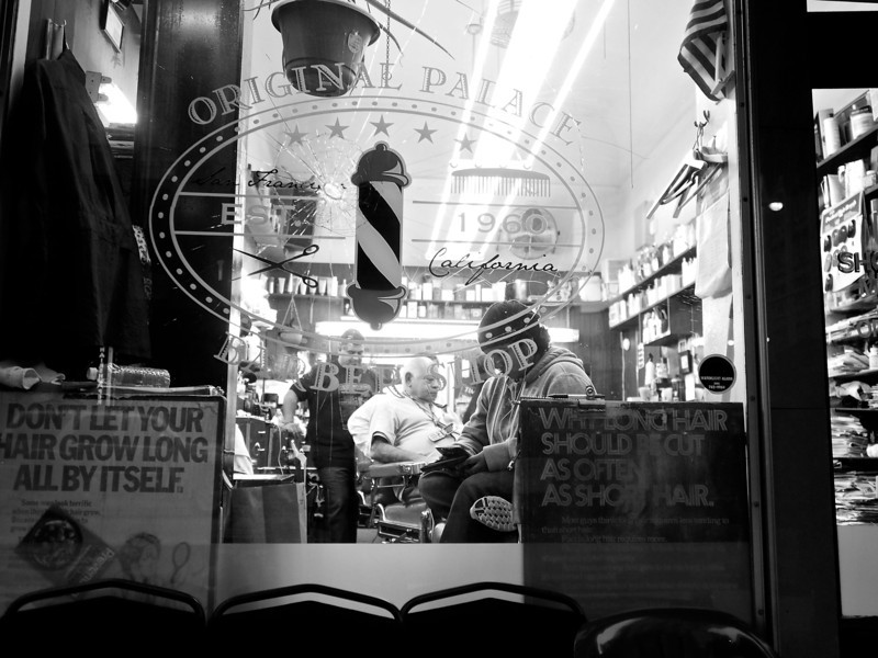 Original Palace Barber Shop - San Francisco, California